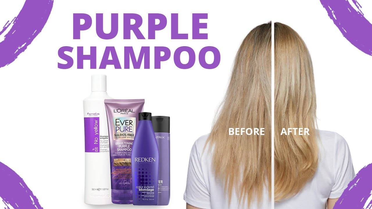5 Best Purple Shampoos for Blondes - YouTube