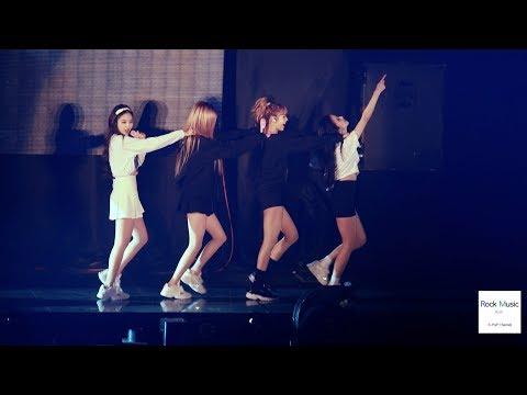 블랙핑크(BLACK PINK)Encore Song 휘파람 WHISTLE[4K 직캠]@181111 락뮤직