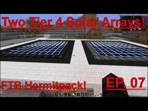 Hermitpack- EP. 07 - Massive Power Source! TWO Tier 4 Solar Arrays!