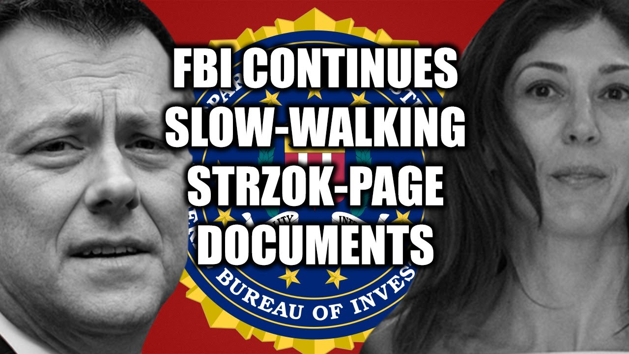 Lisa Page & Peter Strzok's Affair Compromised the Sham Clinton Probe & Trump/Russia Inv