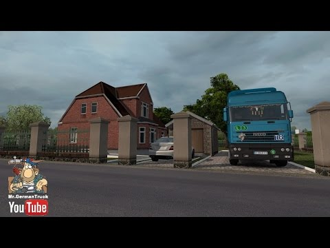 ets2 home sweet home mod paris vive la france. Black Bedroom Furniture Sets. Home Design Ideas