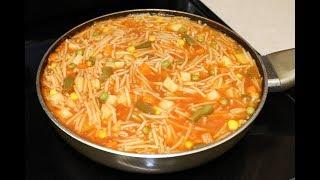 Sopa de Fideo Rica Y Nutritiva Estilo8a