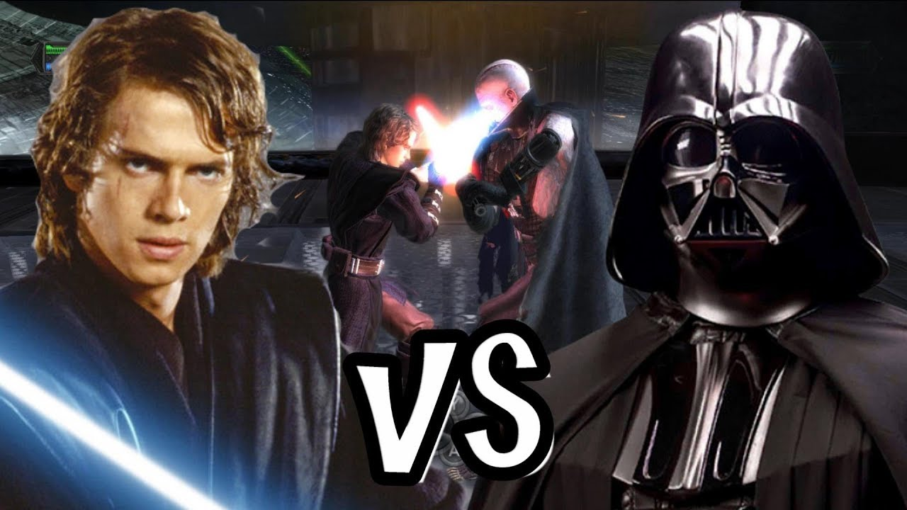 Anakin Skywalker v Darth Vader The Force Unleashed YouTube