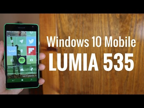 Lumia 535 con Windows 10 Mobile, review en español