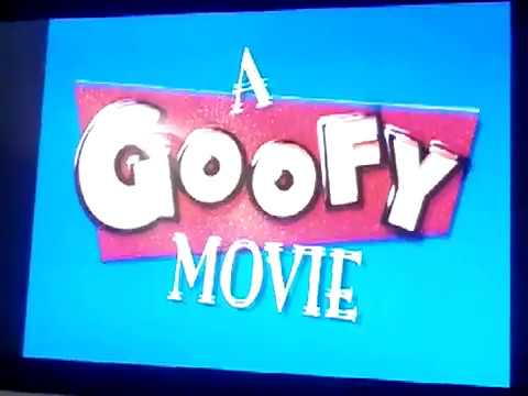 Opening To A Goofy Movie 2000 DVD - YouTube