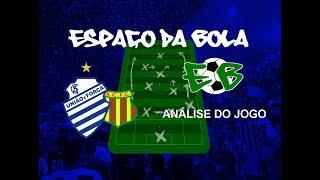 CSA x Sampaio Corrêa - Análise do Jogo