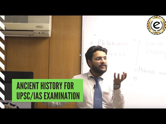 EDEN IAS-  Ancient History classes for UPSC. Post Mauryan Period by Deepak Singhal.