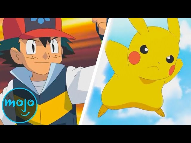 Top 10 Pokemon Anime Gym Battles
