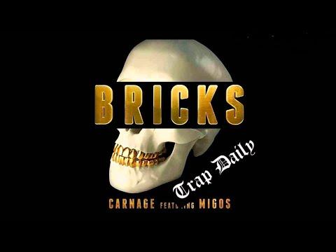Dj Carnage ft Migos - Bricks (Bass Boosted) [Instrumental]