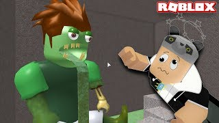 Zombili Şehirden Kaçış!! - Panda ile Roblox Escape the City Obby!