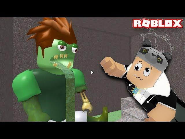Zombili ?ehirden Kaç??!! - Panda ile Roblox Escape the City Obby!