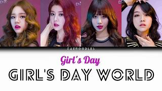 GIRL'S DAY (걸스데이) - Girl's Day World (intro) Color Coded Lyr…