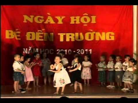 Tiet muc Tieng Anh vui nhon cua cac be Truong mam non ThangLong KidSmart.avi