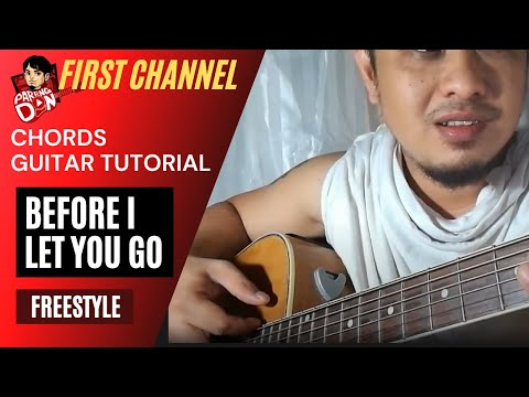 Before I Let you Go chords guitar tutorial (Freestyle) Summer na ...