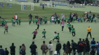 東京ヴェルディ スクールの子供達とサッカー