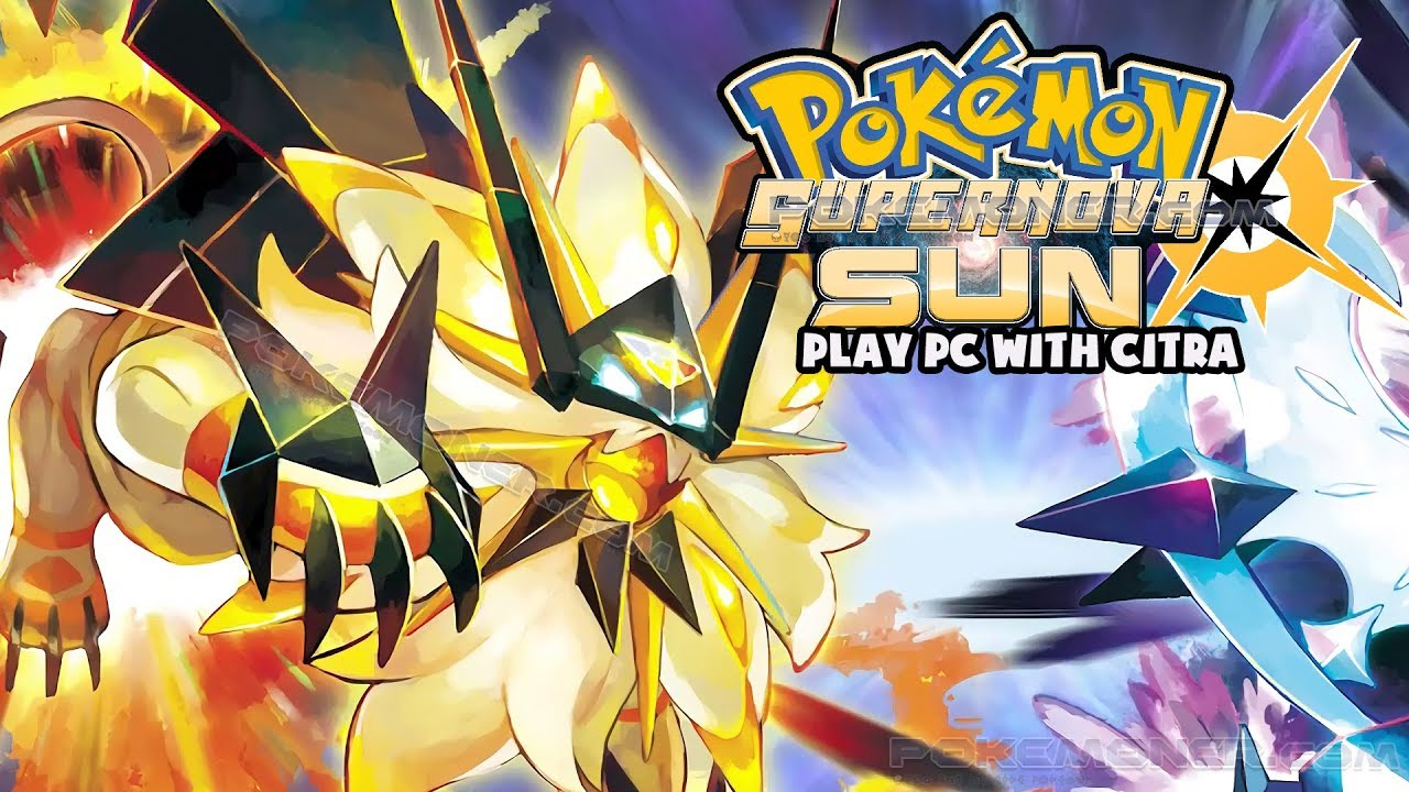 3DS] Pokemon Supernova Sun decrypted Citra v1 0 5