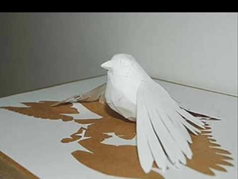 Amazing paper sculptures youtube for 3d art sculpture ideas