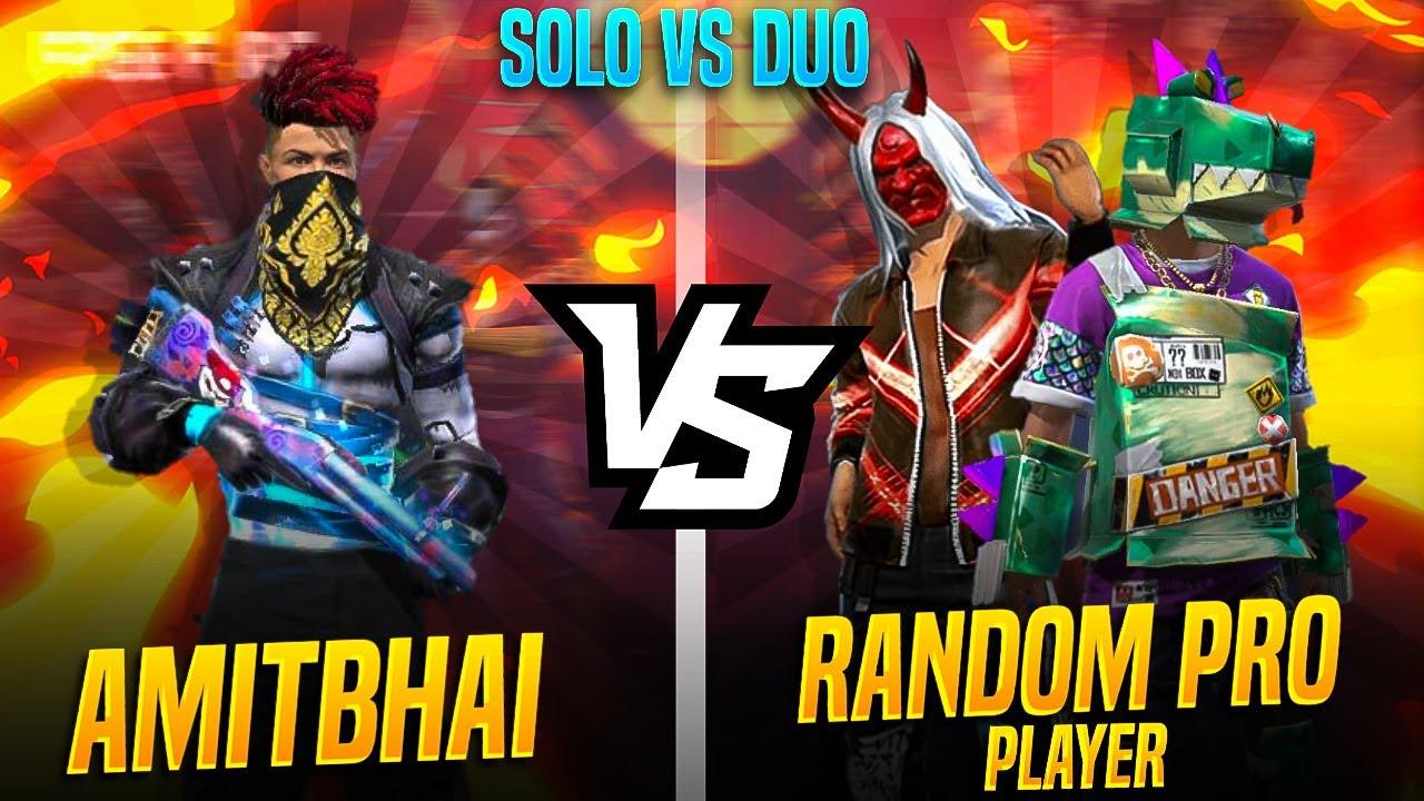 Solo Vs Duo 😱 || AmitBhai Vs ULTRA LEJHAND  || Free Fire Clash Squad || Desi Gamers