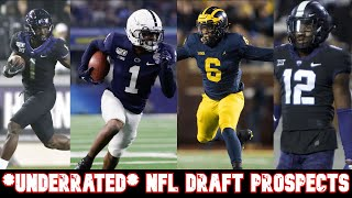 *UNDERRATED* NFL Draft Prospects | 2020 NFL Draft