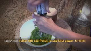 How to Make: Traditional Basil Pesto