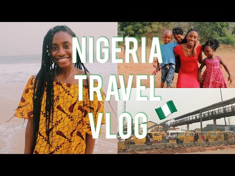 LAGOS NIGERIA, NEW YEARS EVE, NSUKKA BEACH DAY | 2018 NAIJA TRAVEL VLOG #1
