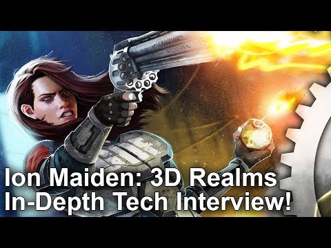 DF Retro Extra - Ion Maiden Tech Interview: A Brand New FPS - Built On The Duke Nukem 3D Engine!