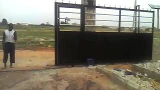 Solar Powered Automatic Gate-by Walem Security Solution Part 2
