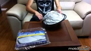 How To Fold The Front Reflex Twist Sunshade | Motoquipe.com.au