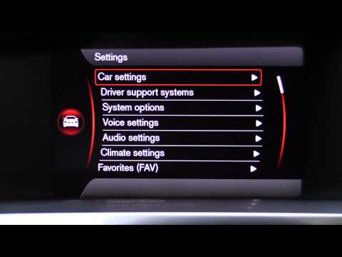 2015 Volvo Sensus Infotainment and Digital Instrument Cluster Review