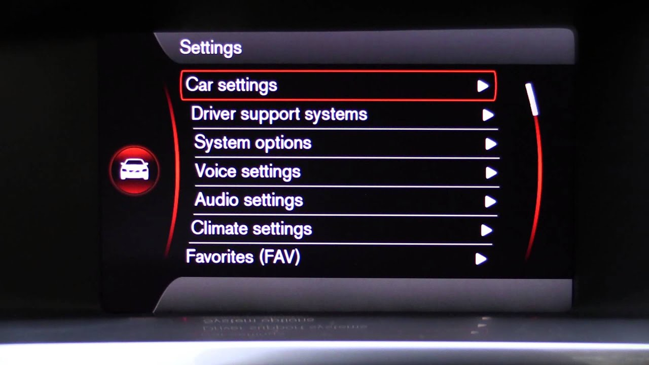 2015 Volvo Sensus Infotainment And Digital Instrument