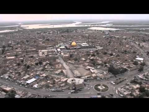 Samarra (Iraq) from Sky - April 2016 (HD)