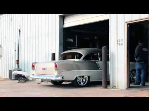 Hix Design: Custom '55 Chevy Belair Interior
