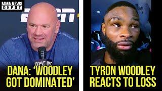 UFC Pros react to Tyron Woodley vs Gilbert Burns, Dana reacts to Woodley, UFC Vegas Recap, MMA News