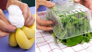 7 Лайфхаков, которые помогут дольше сохранить продукты свежими.