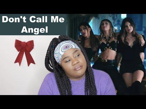 Ariana Grande, Miley Cyrus, Lana Del Rey - Don't Call Me Angel |REACTION|