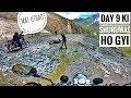 Day 9 | Finally Dream Ride Begins | Roger Vicky Ladakh Ride