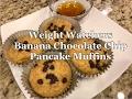 Weight Watchers Smart Points Banana Chocolate Chip Pancake Muffins Recipe