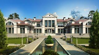 Проект элитного дома в неоклассическом стиле(http://www.topdom.info/portfolio/rl40.php ➨ обзор проекта на сайте архитектурного бюро ТопДом. ▻ В проекте элитного котте..., 2015-09-25T11:56:33.000Z)