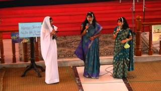 Skit by Secondary students @ St Andrews Valiapally, Secunderabad - OVBS 2013