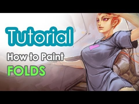 How to paint folds