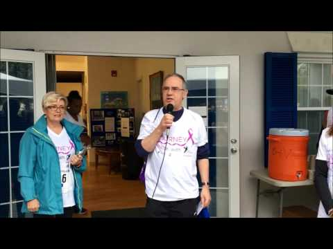 Start Of PALS Cancer Care Charity Walk, Feb 19 2017