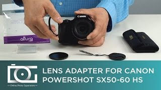 TUTORIAL | How To Attach an Adapter Ring to CANON PowerShot Cameras | Video(, 2015-05-27T20:50:36.000Z)