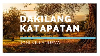 Dakilang Katapatan / Female Version Joni Villanueva - Lyric Video