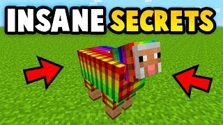 3 INSANE MINECRAFT SECRET FEATURES (Ps3/Xbox360/PS4/XboxOne/WiiU)