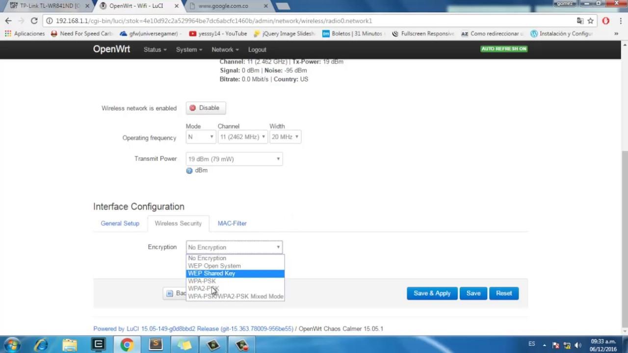 Openwrt - Configurar Wifi con acceso a internet