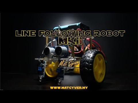 MatGyver Line Following Robot MkII (2 Sensor)