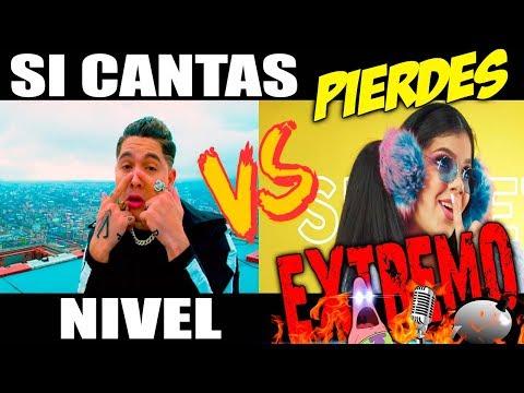 SI CANTAS PIERDES NIVEL EXTREMO || YOUTUBERS JD VS KO 🔥🎤😃💣