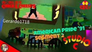 Roblox Chuck E. Cheese's Studio C Alpha - America Pride '91 Segment 2