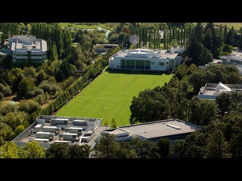 Tour Nike's Oregon Headquarters from the Air