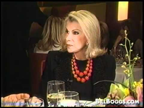 "Joan Rivers ""Queen of The Red Carpet"" Interview with Bill Boggs"